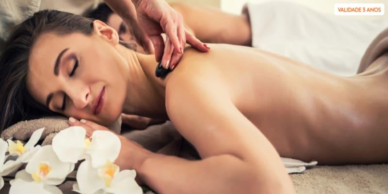 Momento Romântico! Massagem de Relaxamento a Dois | 45 Min. | Alameda