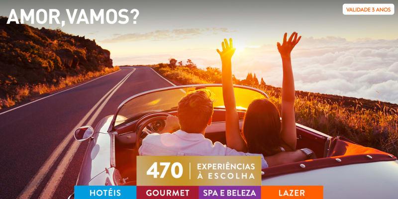Amor, vamos | 470 Experiências à Escolha
