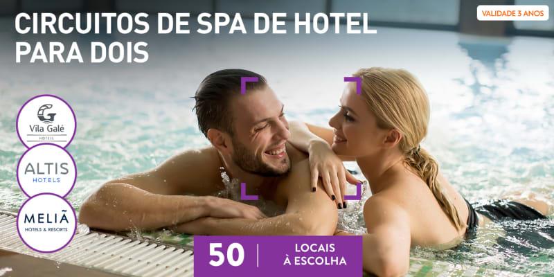 Circuitos de Spa de Hotel para Dois | 50 Locais à Escolha