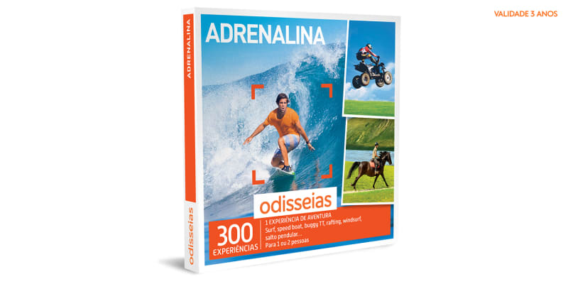 Adrenalina   300 Experiências