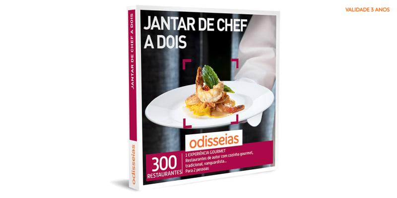 Jantar de Chef a Dois   300 Experiências