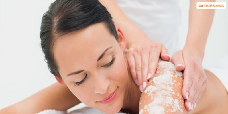 Esfoliação Sal e Óleo de Argão + Massagem Hidratante   Porto
