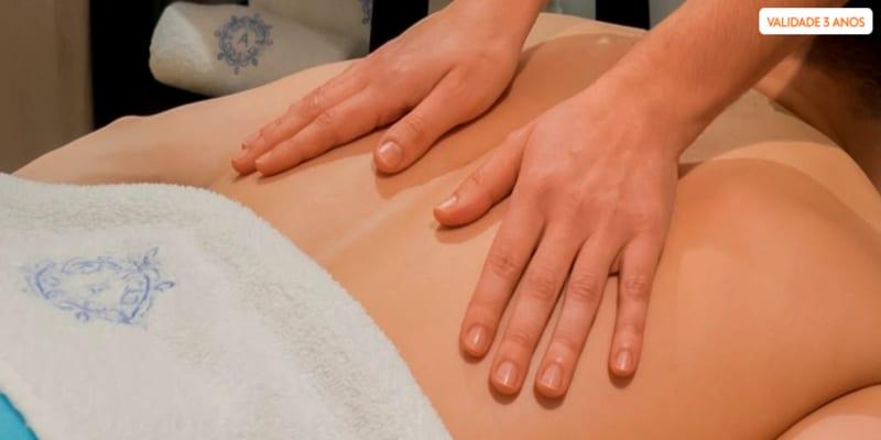 Massagem de Relaxamento + Sauna e Banho Turco   Momento Exclusivo - 1h40   Amoreiras