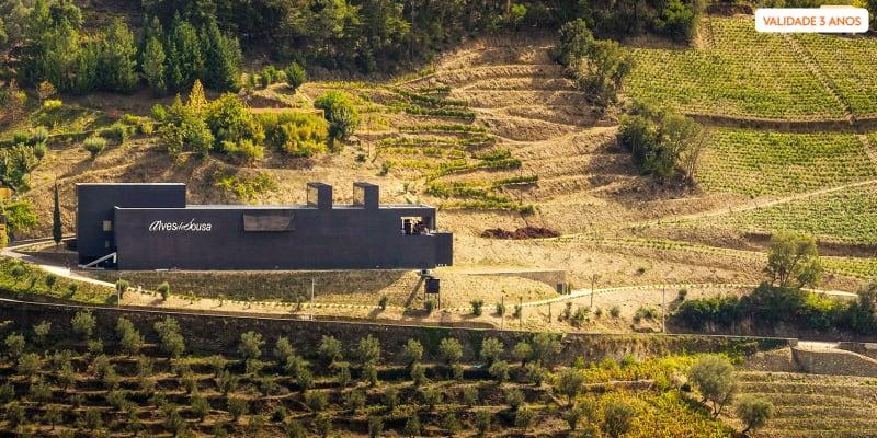 Visita à Adega + Prova de 3 Vinhos para Dois | Quinta da Gaivosa de Alves de Sousa - Vila Real