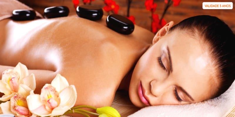 Massagem de Pedras Quentes   1 ou 2 Pessoas - Beautiful & Happy Day Spa - Boavista