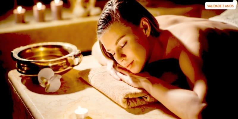 Ritual Marrakesh para 1 ou 2 Pessoas | Massagem e Hidratação - 1h | Porto