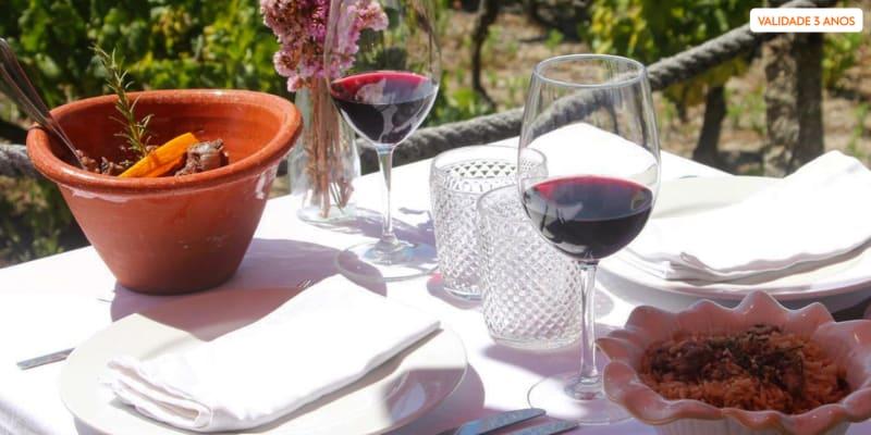 Sabores Regionais para Dois com Vista para as Vinhas | Restaurante Bem Haja - Viseu