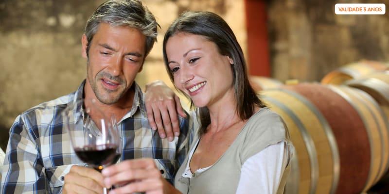 Visita à Adega + Prova Comentada de 5 Vinhos para Dois | Boas Quintas - Mortágua