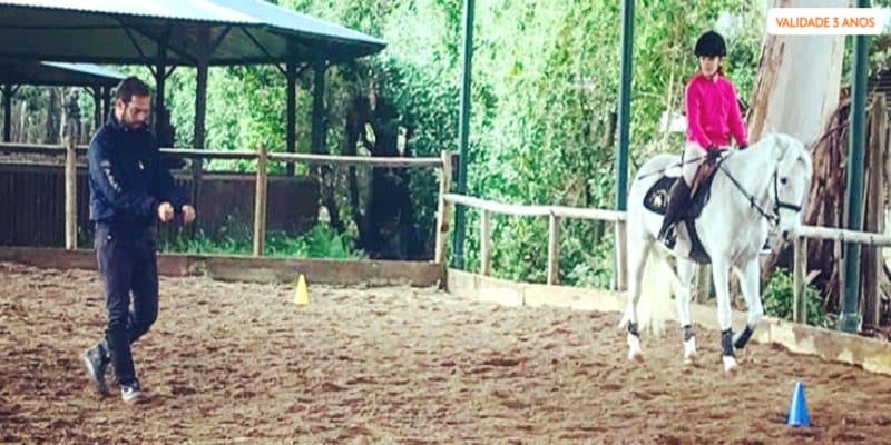 Aula de Equitação na Escola LMG Equestre - Campo Grande | Nível Iniciado ou Avançado