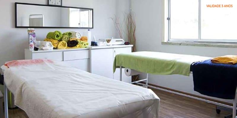 Massagem Relax ou Terapêutica às Costas para Dois | Adeus Tensão Acumulada! Seixal