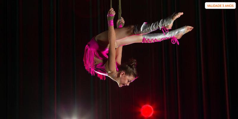 A Beleza e a Arte do Circo! Curso de Técnicas Circenses - 1 Mês   Loures