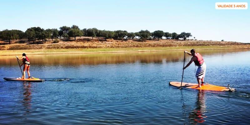 Meio Dia com Stand up Paddle e Prova de Vinhos para Dois | CorkTour - Estremoz