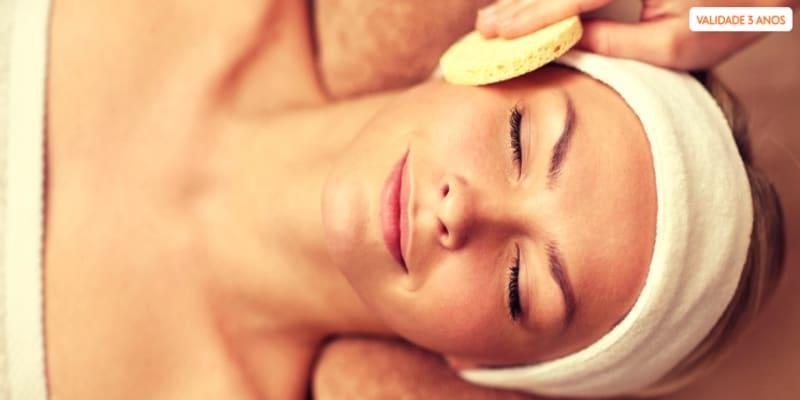 Limpeza de Pele Facial com Colagénio | 1 ou 2 Pessoas | 1 Hora - Braga