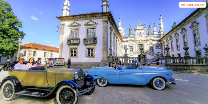 Tour a 2 em Veículo Clássico! Visita Palácio de Mateus + Prova Vinho do Porto e Doçaria Tradicional | Vila Real