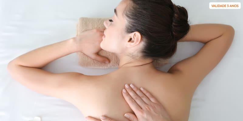 Relax Exclusivo Costas! 3 Massagens Localizadas | 25 Minutos | Boavista