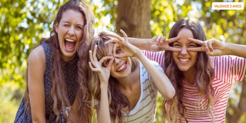 Sessão Fotográfica em Grupo - Estúdio ou Exterior | Maia | Até 5 Pessoas a Sorrir!
