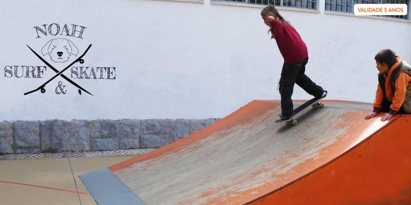 Aula de Skate Privada ou em Grupo - 1h30   Noah Surf & Skate - Cascais