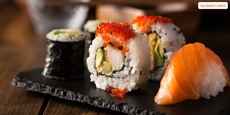 Sushi para Dois no Parque das Nações | Perto Bentô Sushi & Thai Cafe