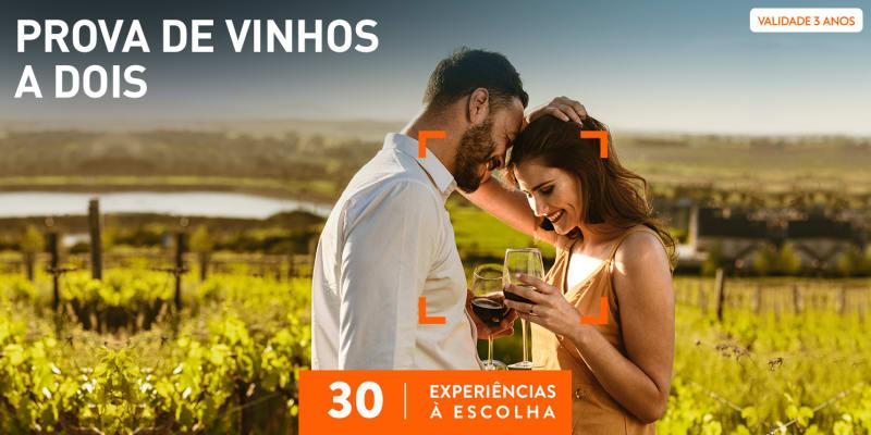Prova de Vinhos a Dois   30 Experiências à Escolha