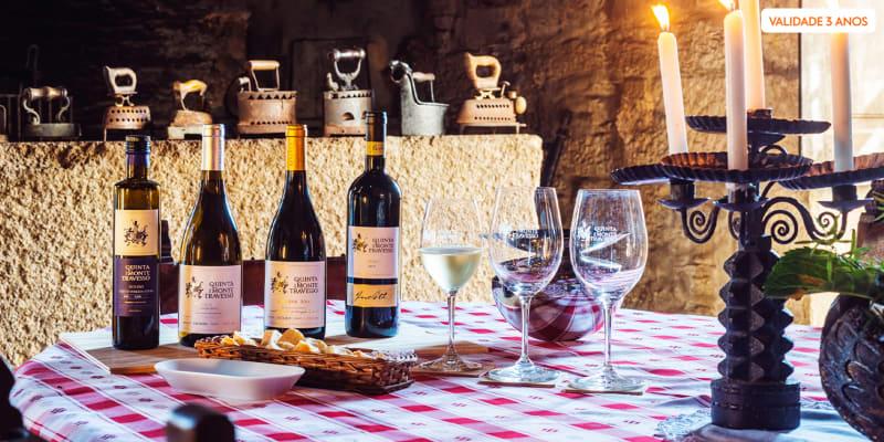 Visita à Vinha e Adega + Prova de 2 Vinhos   Até 4 Pessoas   Quinta do Monte Travesso - Viseu