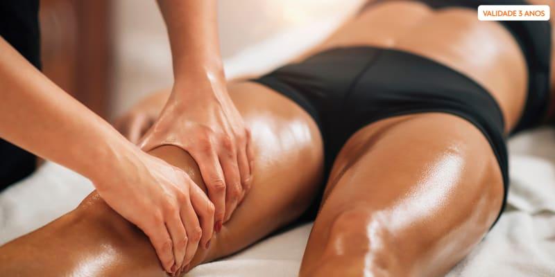 1, 2 ou 3 Sessões de Criolipólise com Massagem Redutora - Zona Corporal à Escolha   Monte Abraão