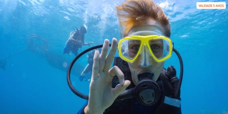 Baptismo de Mergulho no Mar e Piscina | Cascais