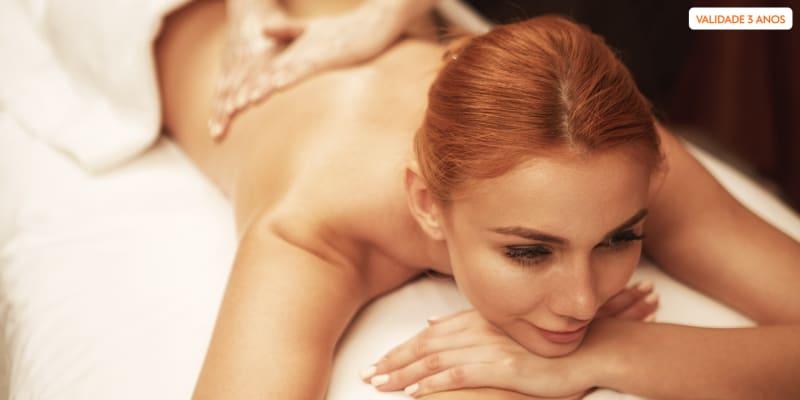 Retiro de Bem-Estar! Massagem de Velas Quentes ou Relaxamento | Restelo