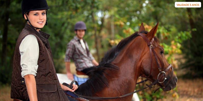 Passeio a Cavalo no Ribatejo - 1 ou 2 Pessoas   Centro Equestre das Cachoeiras - Vila Franca de Xira