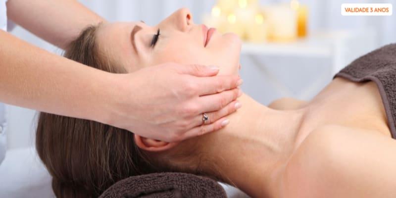 Massagem Relaxante & Mini Facial - 50 Minutos   3 Clínicas Sorria