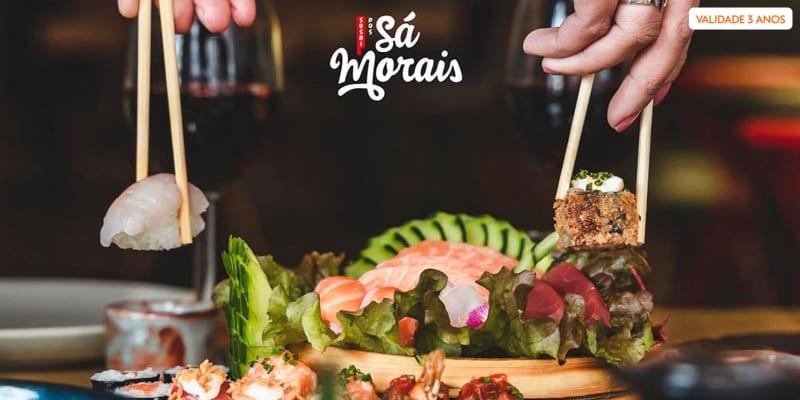 Sushi dos Sá Morais | Entradas + Combinado Heroi Xima de 32 Peças para Dois | Lisboa