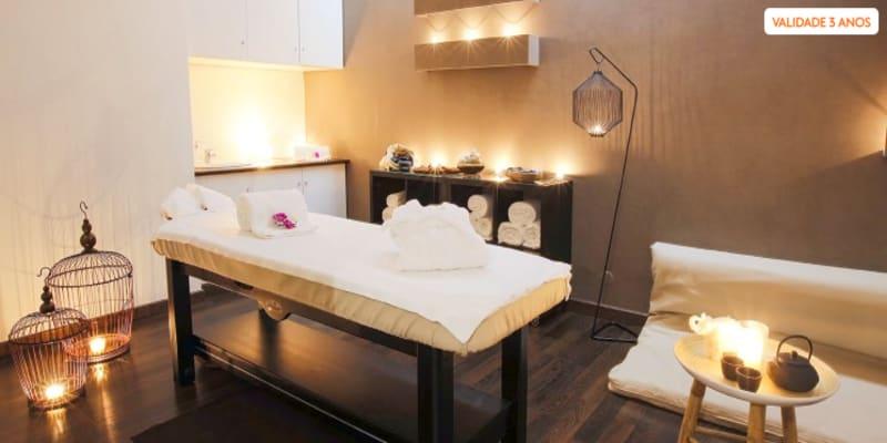 Time For Spa! Massagem Relaxante & Ritual de Chá   25 ou 50 Minutos   Lumiar