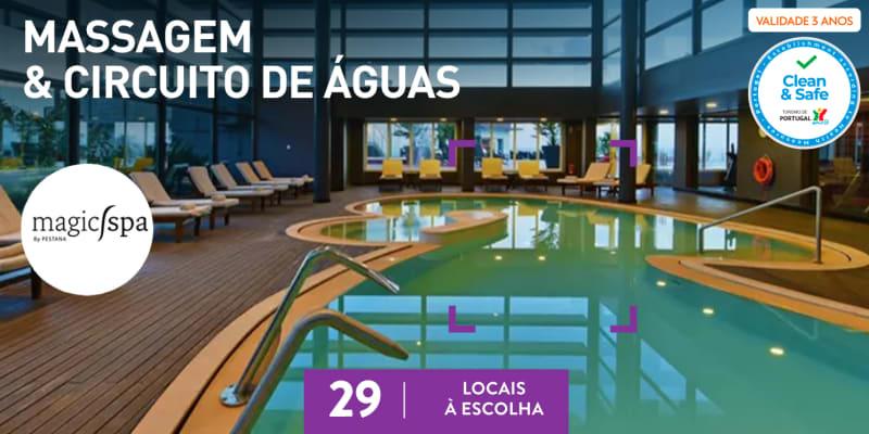 Massagem + Esfoliação & Circuito   Magic Spa by Pestana   29 Locais
