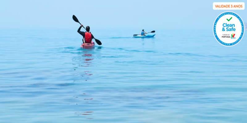 Passeio de Kayak pela Rota dos Fortes   2 Horas - Oeiras   1 ou 2 Pessoas