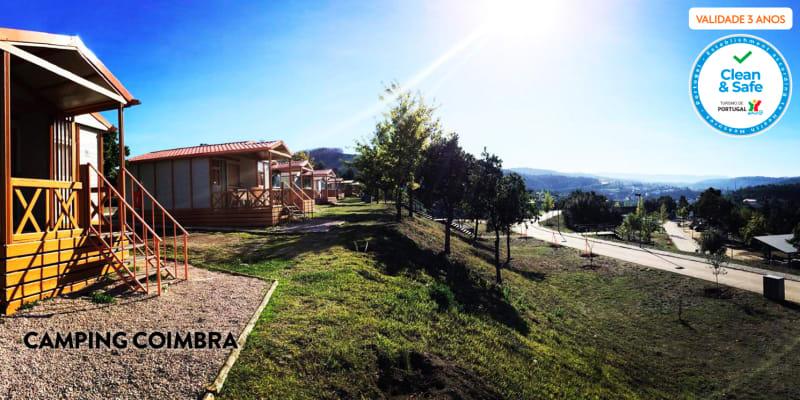 1 ou 2 Noites em Bungalow | Camping - Aveiro, Coimbra ou Torreira