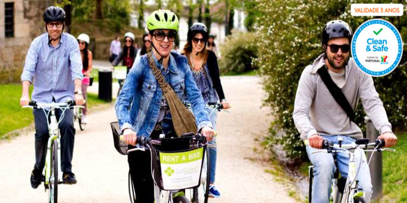 Conheça a Cidade-Berço em Bicicleta Eléctrica a Dois   Guimarães
