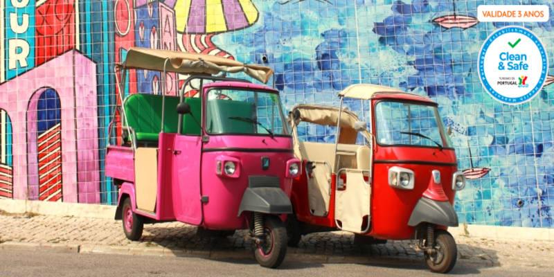 I Tuk You a Descobrir Lisboa | Tour à Escolha em Tuk Tuk para 2 ou 4 Pessoas