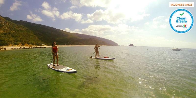 Stand Up Paddle pelas Praias da Serra da Arrábida - 1, 2 ou 4 Pessoas | Into the Nature