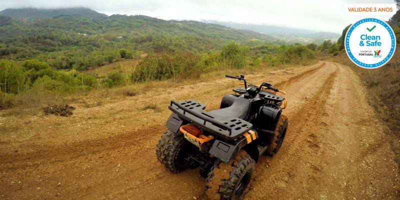 Adrenalina Máxima! Passeio de Moto 4 pela Serra da Arrábida - 25 Km   Kartarrabida