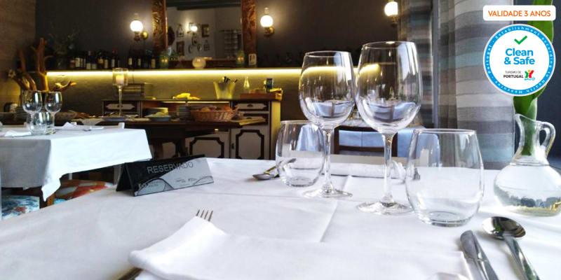 Refeição Completa com Sabores Tradicionais | Restaurante Hotel Boavista - Castelo Branco
