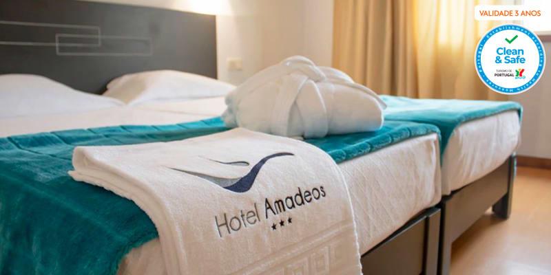 Urban Hotel Amadeos - Matosinhos   Estadia Romântica Junto ao Mar