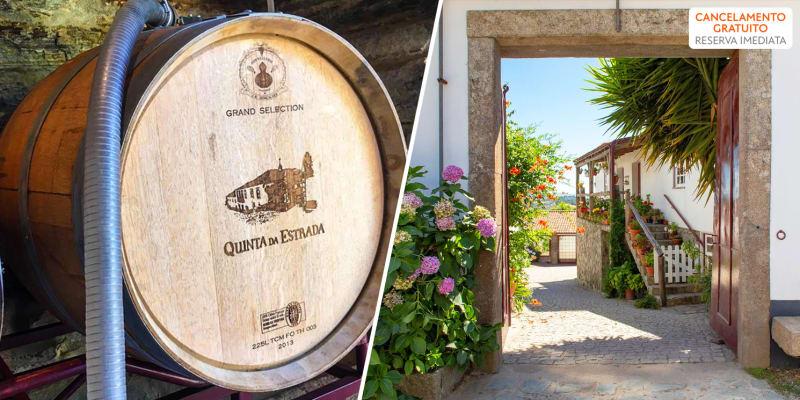 Quinta Da Estrada Winery Douro Valley - Douro   Estadia Romântica em Estúdio e Opção Jantar Vínico
