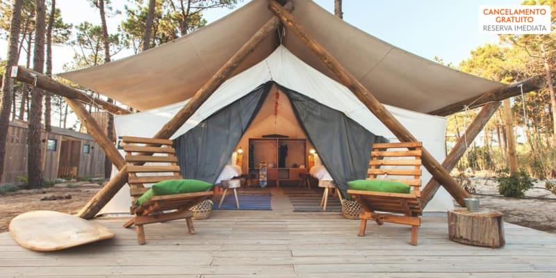 Bukubaki EcoSurf Resort 4* - Peniche | Estadia com Opção Jantar em Tenda de Luxo