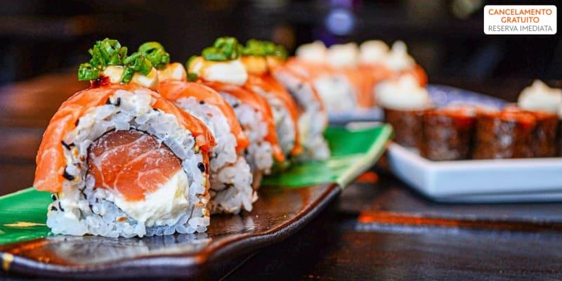 Kanto Fusion Food | 48 Peças de Sushi & Sangria de Espumante para Dois | Benfica