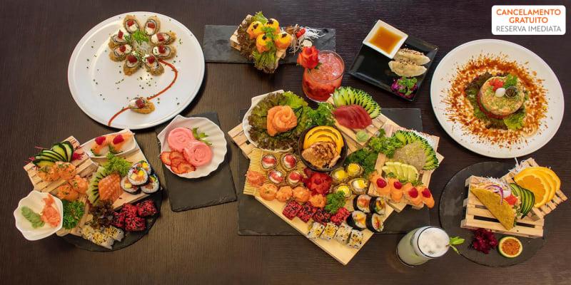 Menu Degustação de Sushi com Sangria para Dois | Katana Sushi - Campolide