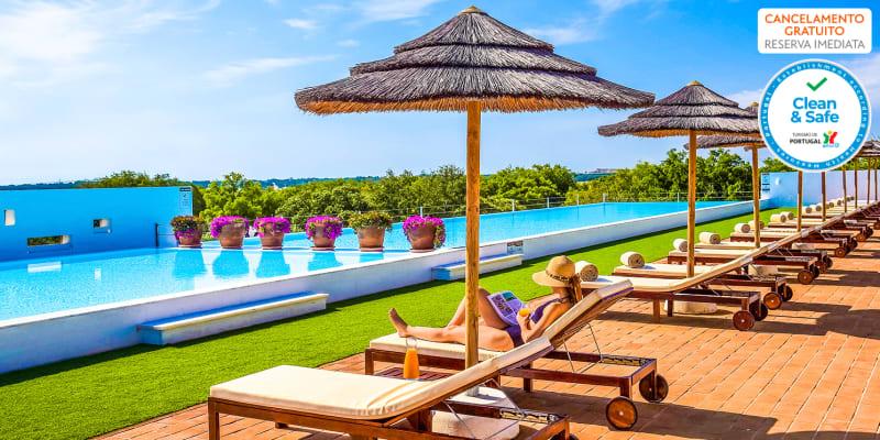Programa de Verão: Férias a Dois ou em Família com Meia-Pensão ou Pensão Completa no Ecorkhotel Évora 4*