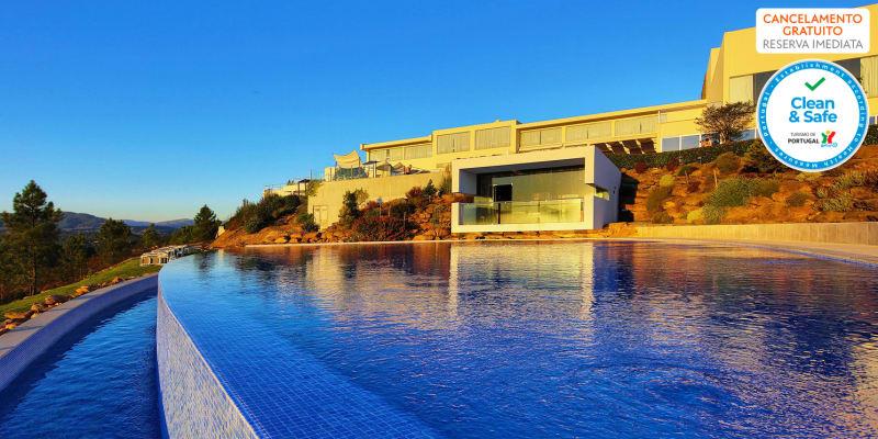 Água Hotels Mondim de Basto 4*   Estadia & Spa com Opção Meia-Pensão