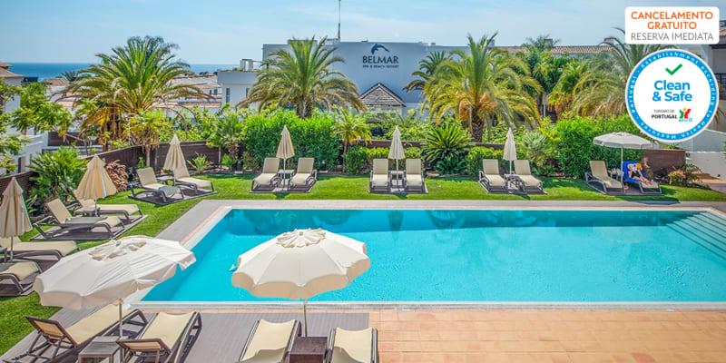Belmar Spa & Beach Resort 4* - Lagos | Noites em Apartamento Junto à Praia & Opção Meia-Pensão