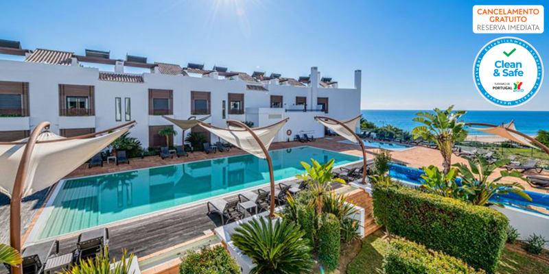 Belmar Spa & Beach Resort 4* - Lagos | Estadia & Spa em Apartamento T2 para 4 Pessoas & Opção Meia-Pensão