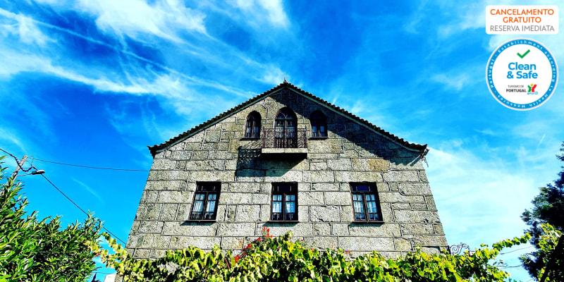 Casa do Fundo - Seia   Estadia Romântica no Interior do País