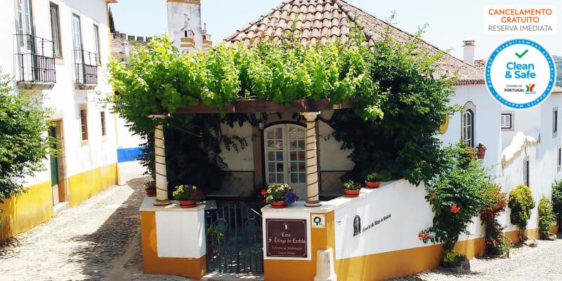 Casa de S. Thiago do Castelo - Óbidos | Estadia no Centro da Vila Medieval com Opção Entrada no Dino Parque